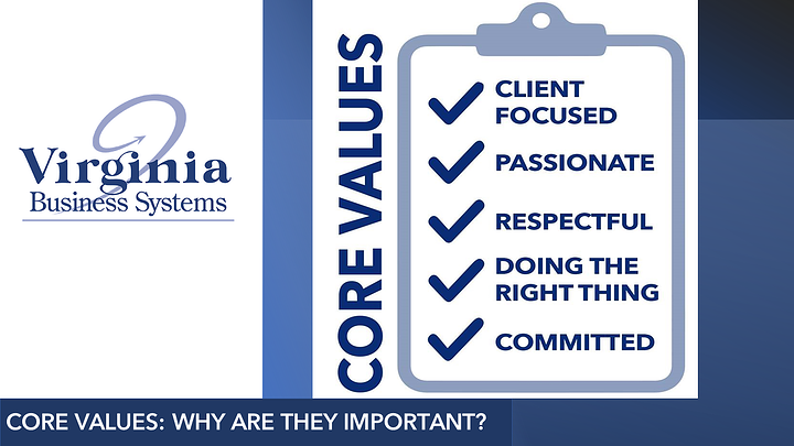 Core Values: Why are They Important?
